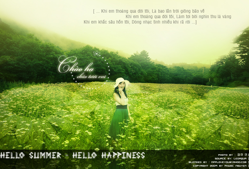 Hello Summer - Hello Happiness by npploveyou on DeviantArt