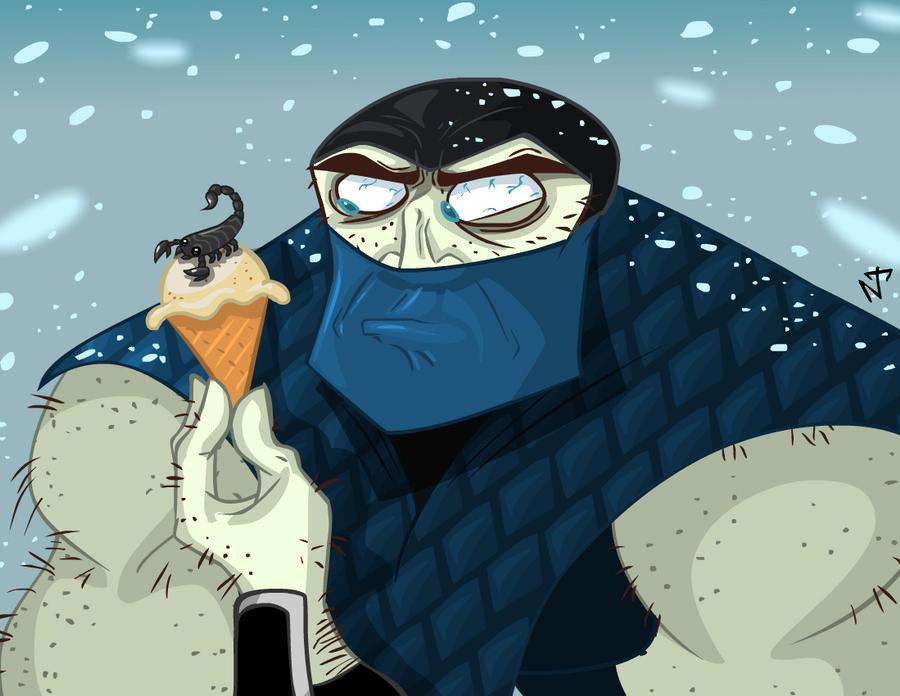 Скорпион и саб зиро смешные картинки, новый год своими