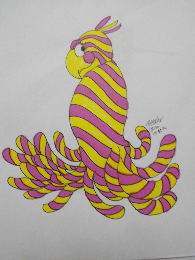 TEXTURE BIRD by KyubiNabruto