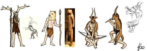 Palaeolithic shamans