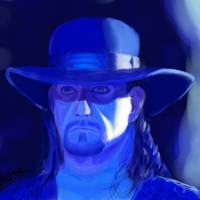 The Undertaker's portrait