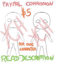 YCH Chibi commission (PAYPAL-Read description)