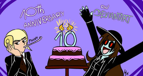 10th Anniversary on Deviantart!
