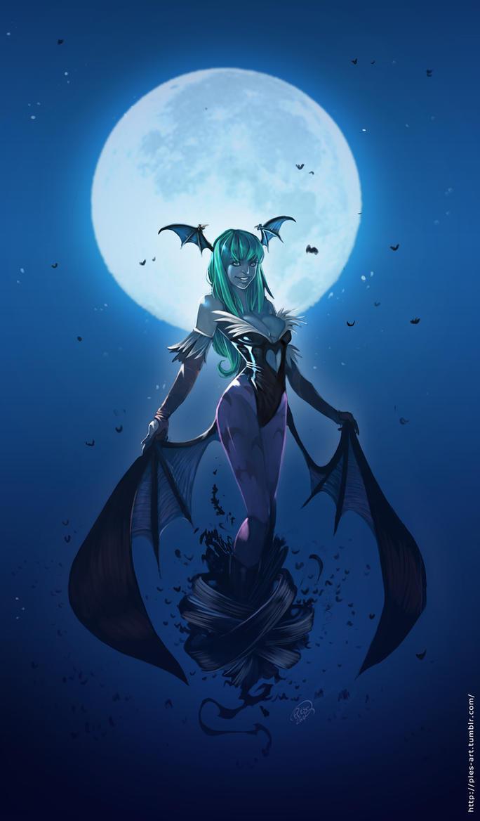 Darkstalkers Morrigan by ples001