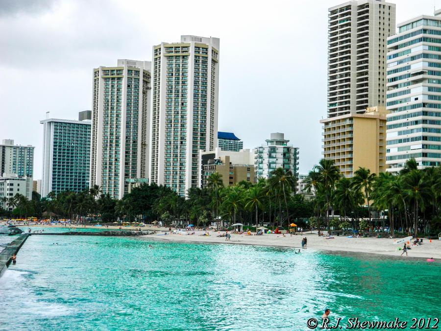 Waikiki Beach (01) by RJShewmake