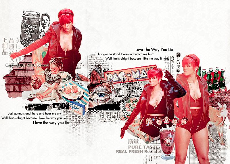 20100806 Rihanna by EdwardHuaBin