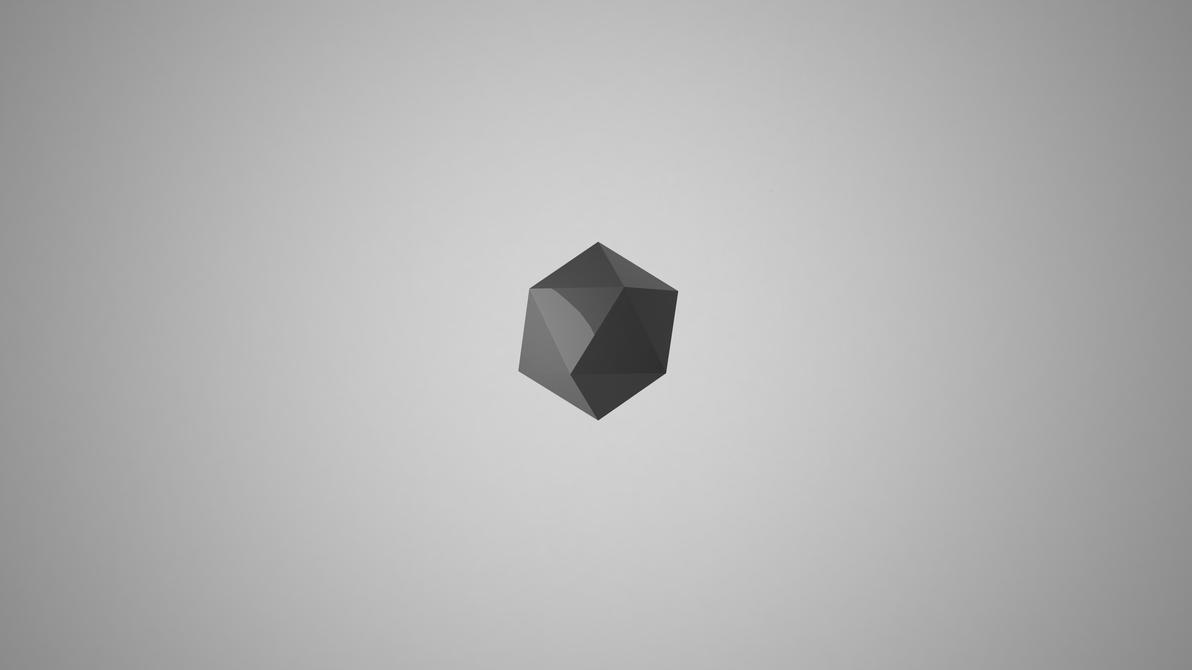 4K Minimalist wallpaper 3D by clover on DeviantArt