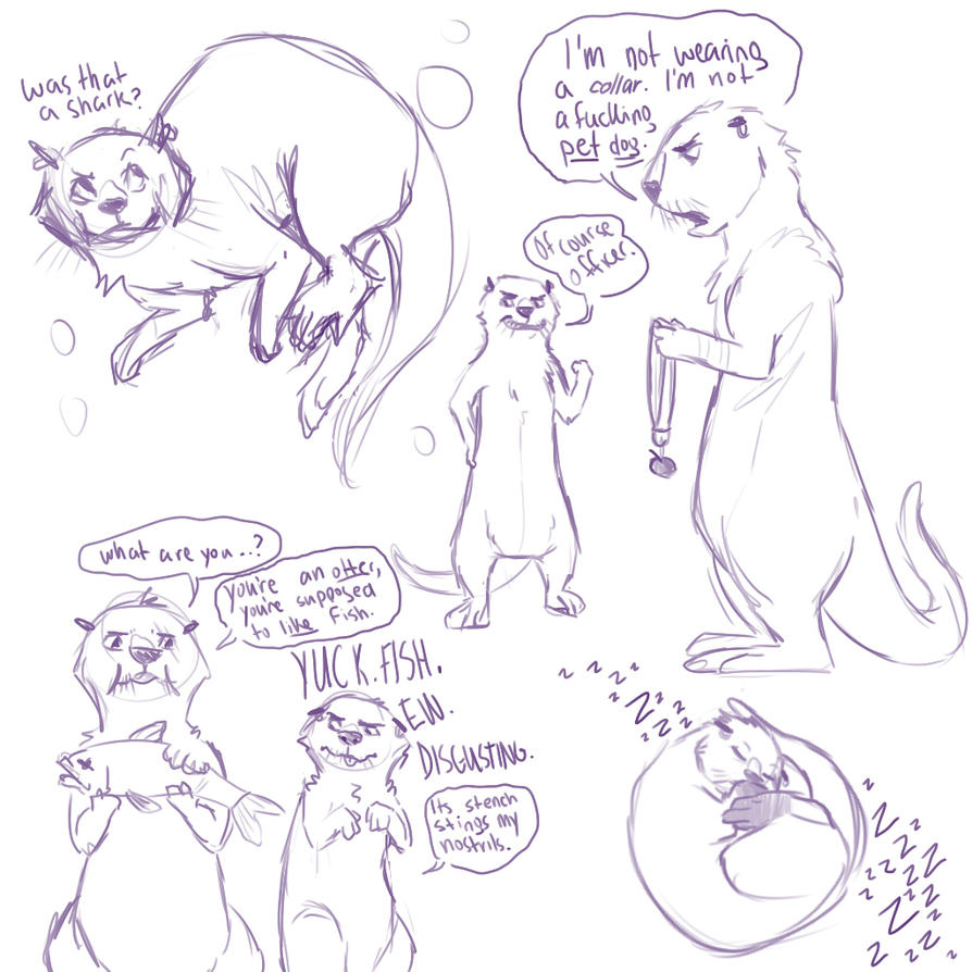 Otter Otter by Taikie