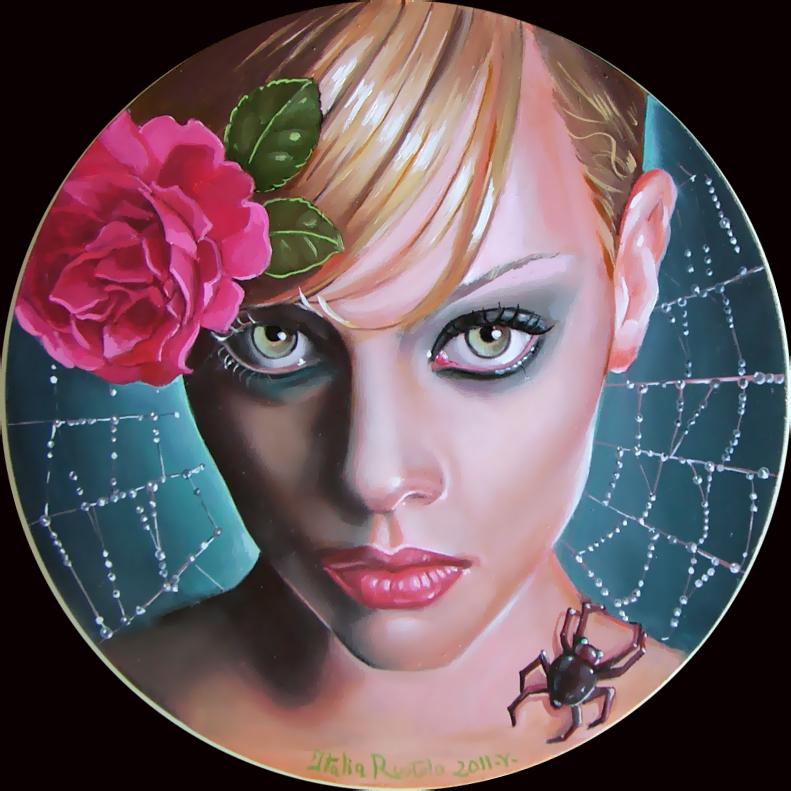 Awakening in webs by Italia-Ruotolo-Art