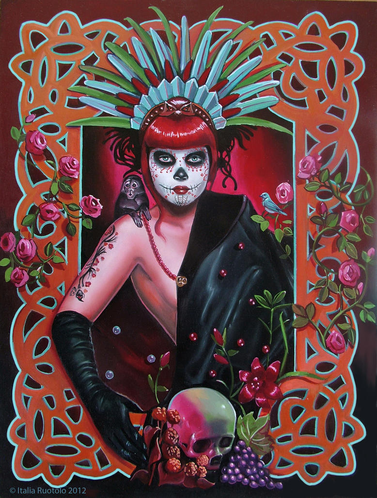 Dulce Muerte by Italia-Ruotolo-Art