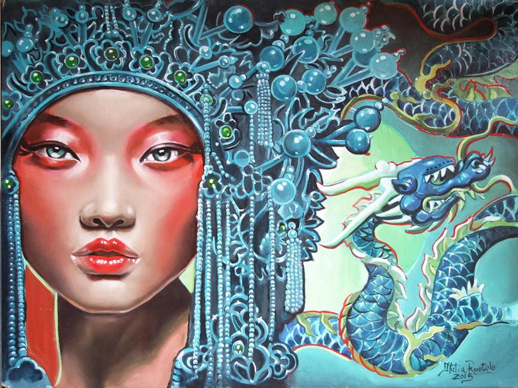 The Dragon Mechanism by Italia-Ruotolo-Art