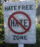 Hate free zone. by causticfrost