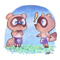 Timmy and Tommy by Narushka-Sama