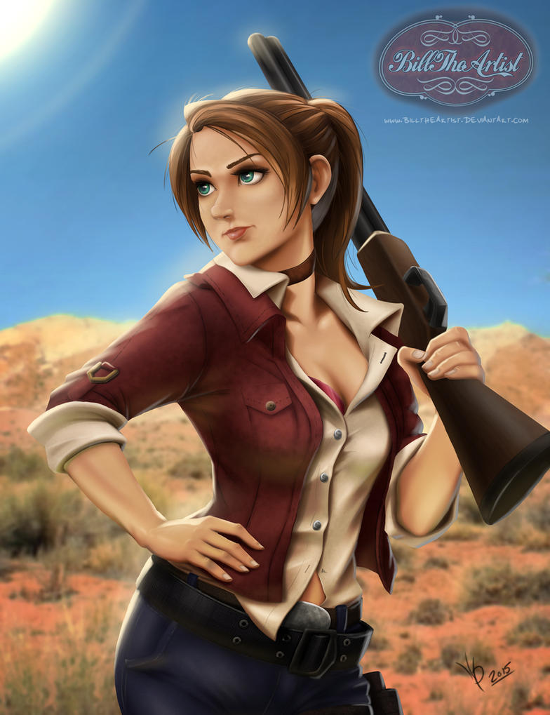 Claire Redfield Resident Evil By Billtheartist On Deviantart