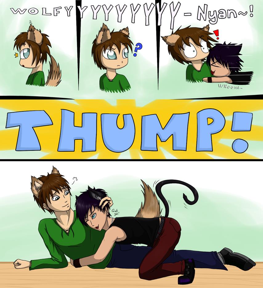 Tackle-hug! by Vampiresuper-sayajin