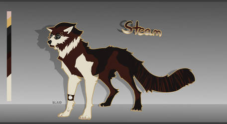 Little Steampunk Canine Adopt -OPEN- by BlackAdopts93
