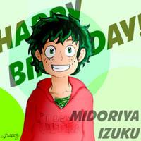 Happy Birthday Izuku!!!
