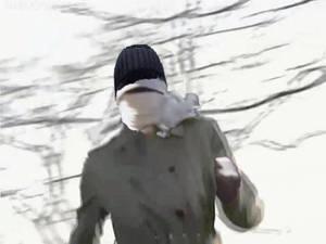 Invisible Woman Runs