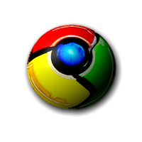 3D Google Chrome Dock icon