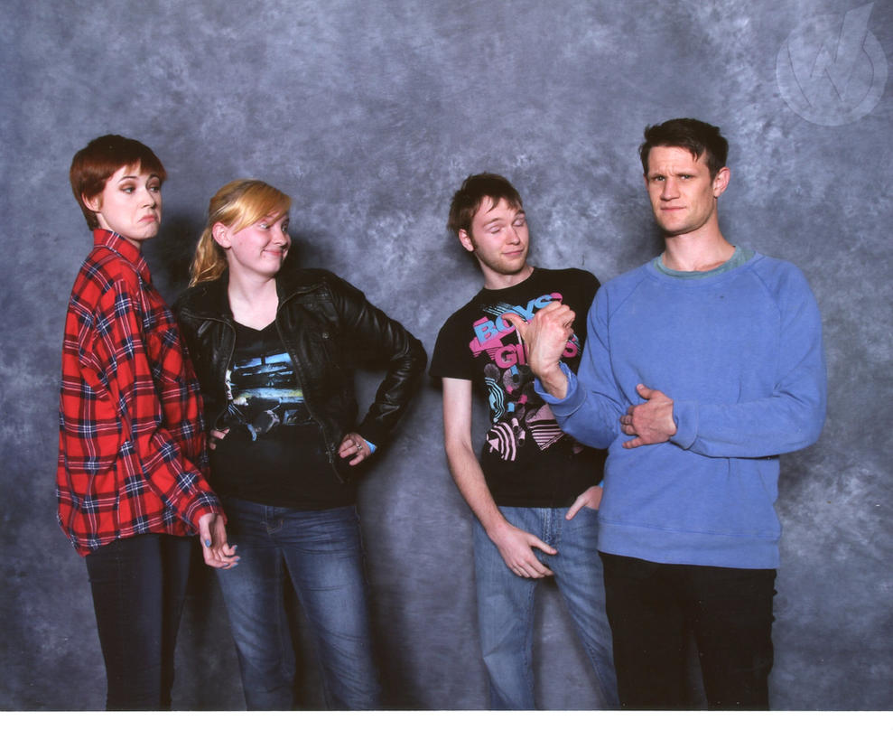 St. Louis Comic Con - Matt Smith and Karen Gillan by Skys ...