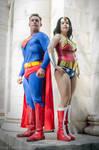 Superman and Wonder Woman @ Dragon*Con 2015