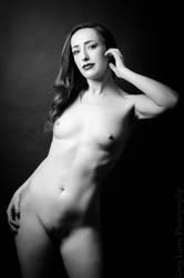 Nude Figure - Electrish 3 by greglarro