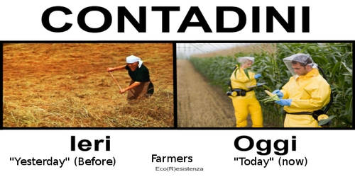 Farmers Before and Now