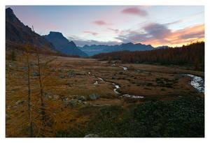 Val Buscagna at sunrise