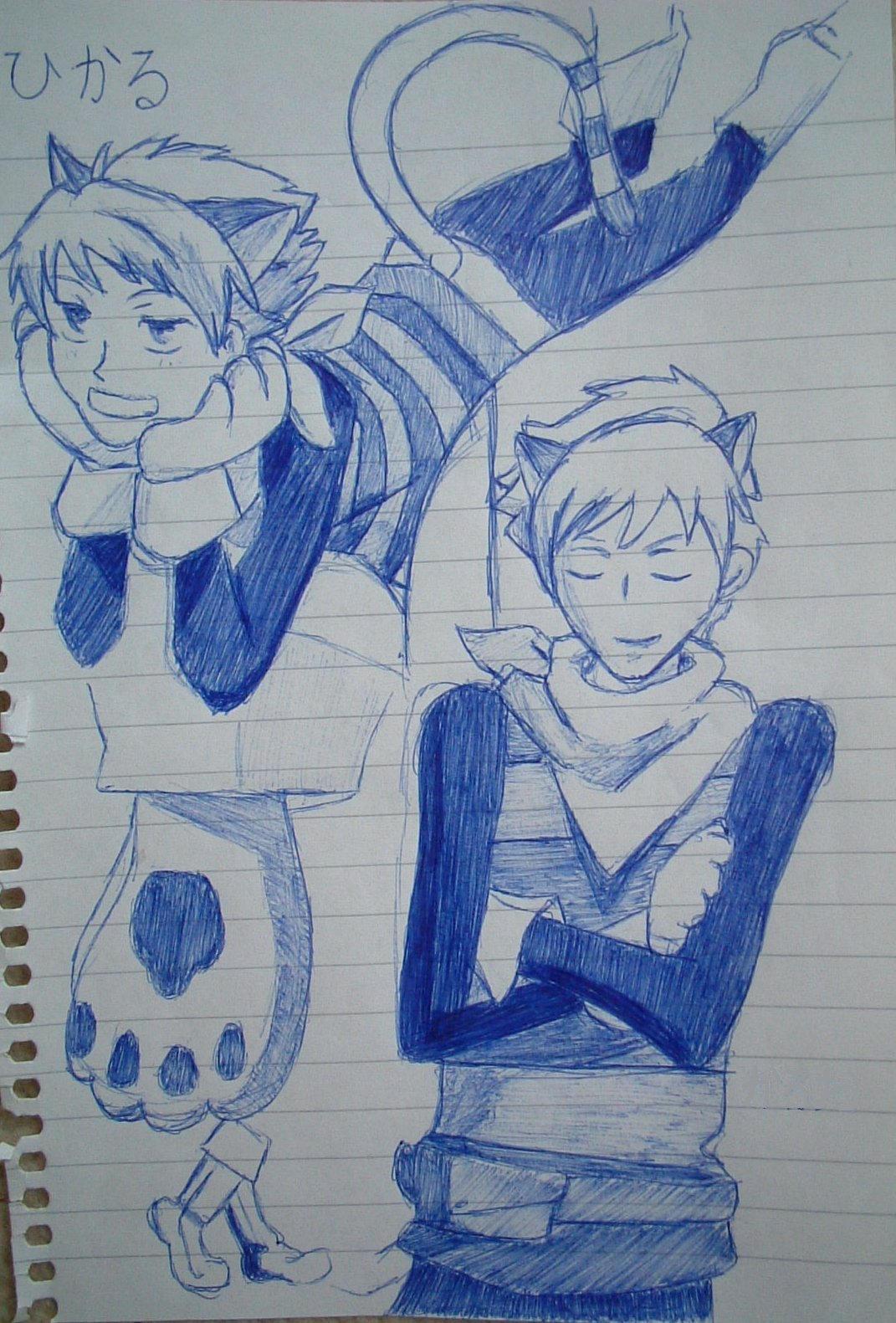 Hikaru and Kaoru by Little-dingo