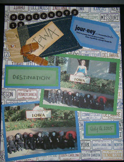 Iowa Scrapbook page by thedollmaker