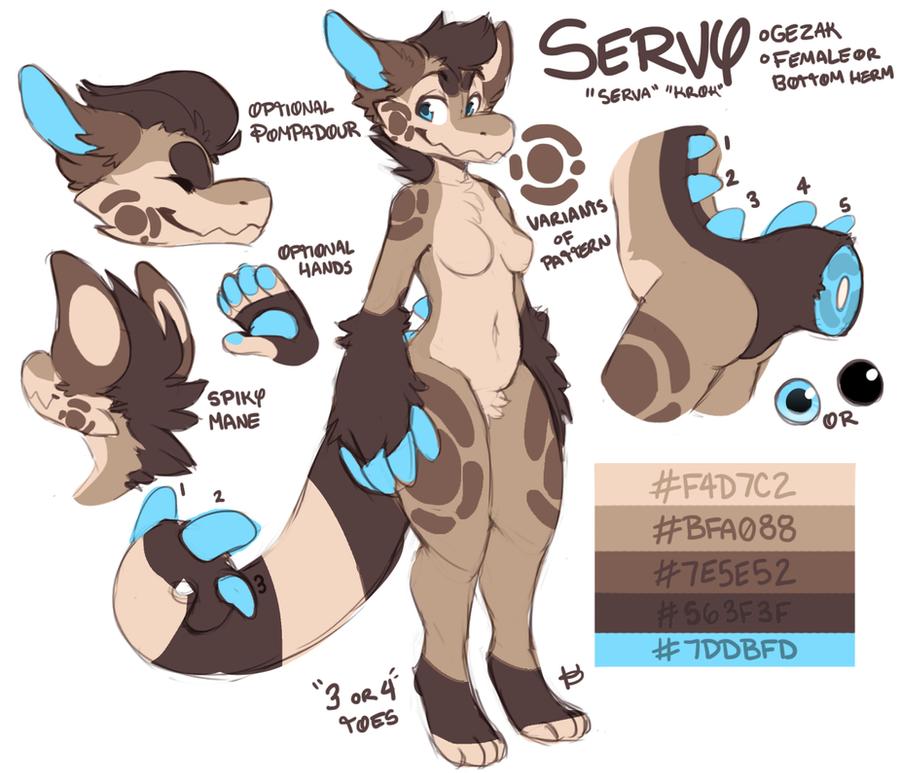 Servy Ref 2014 by Krokpot
