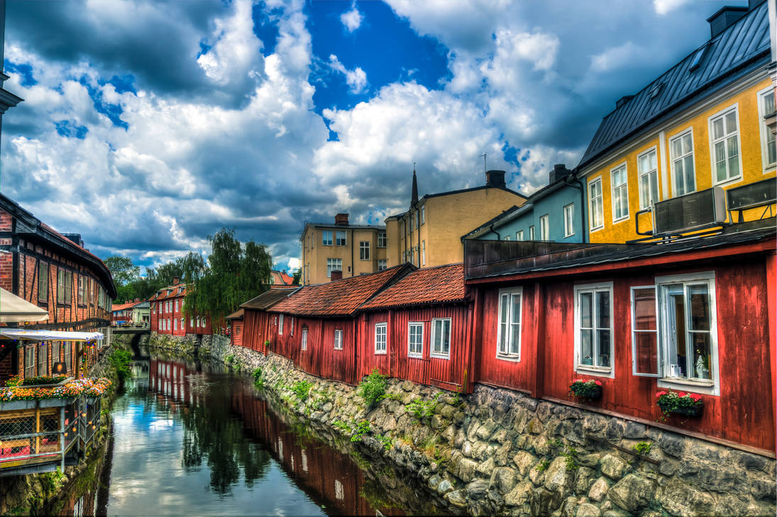 Sweden's Old Towns by Nyiagh