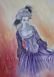 Marie Antoinette by ArtofJaymes