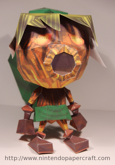 Deku Link Papercraft by Drummyralf