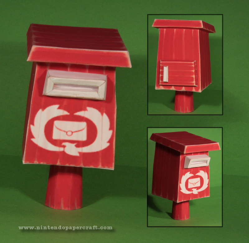 Windwaker Letterbox Papercraft by Drummyralf