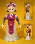Zelda Papercraft
