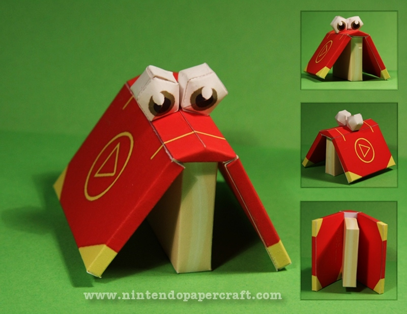 Cheato Papercraft by Drummyralf