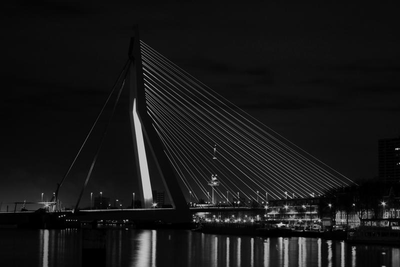 Erasmus Bridge by Drummyralf