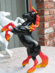 Unicorn of Elemental Fire