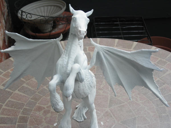 Dragon Horse, Work in Progress by GoldenGryffen