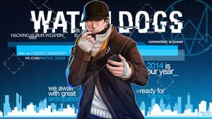 WATCH DOGS - Premium Wallpaper (Free)