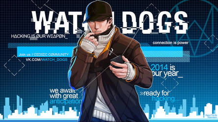 WATCH DOGS - Premium Wallpaper (Free)