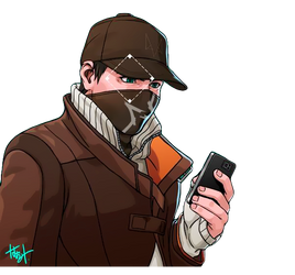Watch Dogs - Aiden Pearce (Render)