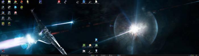 Desktop Win8 July '13 by Molchi90
