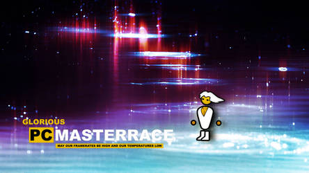 #pcmasterrace Wallpaper by Molchi90
