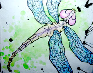 inked series: dragonfly