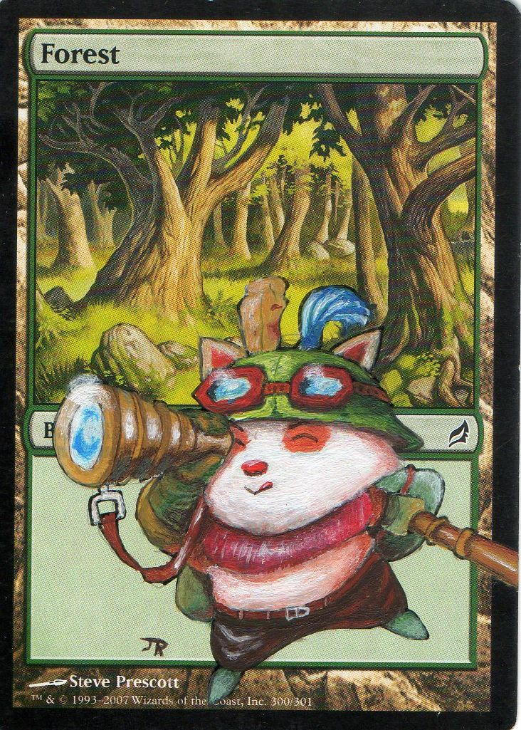 Capt'n Teemo on forest by EruAlasthor