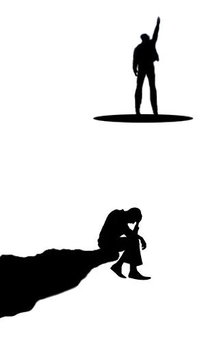 Transcending Depression by VicariouSoul