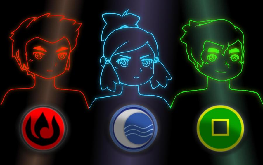 Neon Legend of Korra