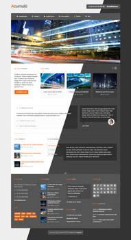 Acumulo HTML - Modern Business Theme